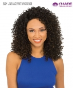 New Born Free Synthetic Lace Front Wig - SLIM LINE LACE PART WIG SLW18