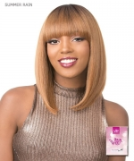 It's a wig Synthetic  Full Wig - SUMMER RAIN