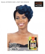 Model Model Synthetic Lace Front Wig - EQUAL EXTREME SIDE L-PART WIG ROSLYN