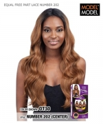 Model Model Lace Front Wig - EQUAL FREE PART LACE NUMBER 202