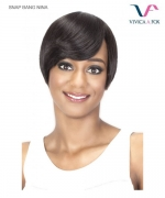 Vivica Fox SNAPB-NINA - Premium Human Hair SNAP BANG Hair Piece