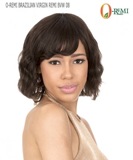 New Born Free Remi Human Hair Full Wig - O-REMI BRAZILIAN VIRGIN REMI BVW08