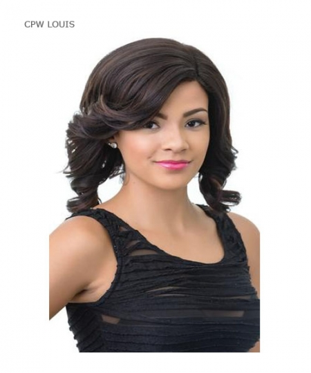 Diana C Part Synthetic Lace Front Wig - CPW LOUIS