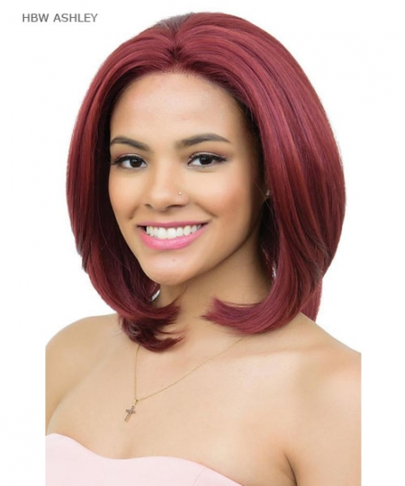 Diana Brazilian Secret Human Blend Hair Lace Front Wig - HBW ASHLEY