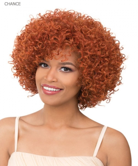 It's a wig Synthetic  Full Wig - CHANCE