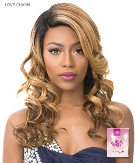 It's a wig Synthetic  Full Wig - LOVE CHARM