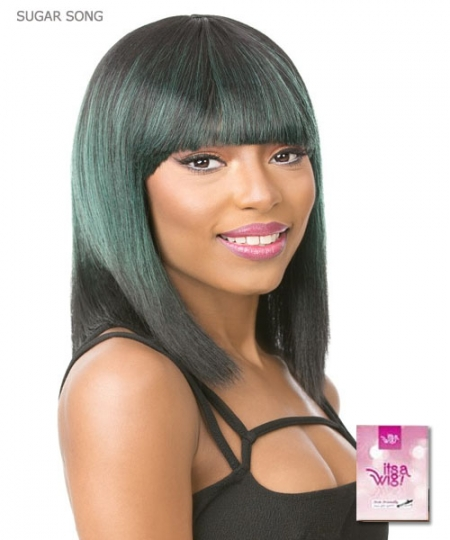 It's a wig Synthetic  Full Wig - SUGAR SONG