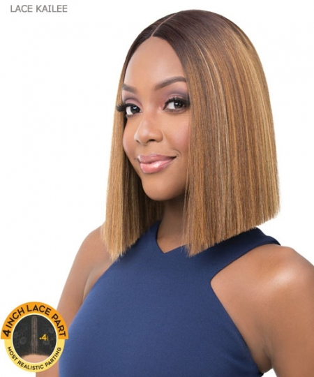 It's a wig Synthetic 4 Inch Lace Part Lace Front - LACE KAILEE