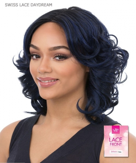 It's a wig Synthetic  Lace Front - SWISS LACE DAYDREAM