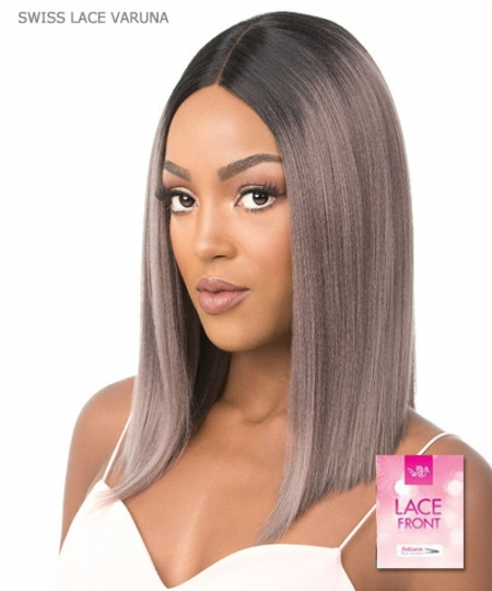 It's a wig Synthetic  Lace Front - SWISS LACE VARUNA