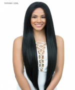 Diana Brazilian Secret Human Blend Hair Lace Front Wig - HBW TIFFANY GIRL