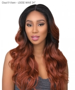 Sensationnel Synthetic Cloud 9 Vixen Multi Part Swiss Lace Wig - LOOSE WAVE 24