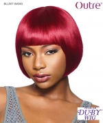 Outre Human Hair  Full Wig - Duby -  BLUNT BANG