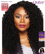 Outre Human Hair Weave Extension - Purpple Pack - PINEAPPLE WAVE 18
