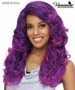 Vanessa Lace Front Wig  SUPER C9 VIOLA - Synthetic C-SIDE LACE PART Lace Front Wig