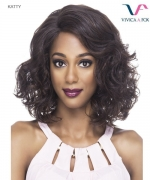Vivica Fox  KATTY - Synthetic Invisible Side Part Lace Front Wig