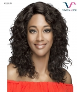 Vivica Fox  KEELIN - Remi Human Hair Invisible Side Part Lace Front Wig