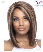 Vivica Fox SLAY - Synthetic Invisible Side Part Lace Front Wig