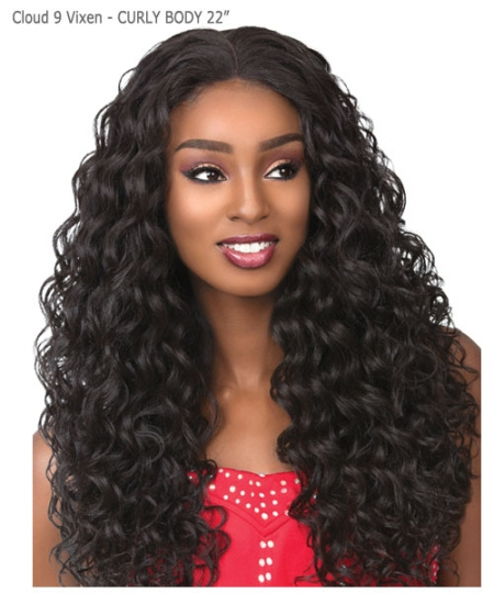 Sensationnel Synthetic Cloud 9 Vixen Multi Part Swiss Lace Wig - CURLY BODY 22