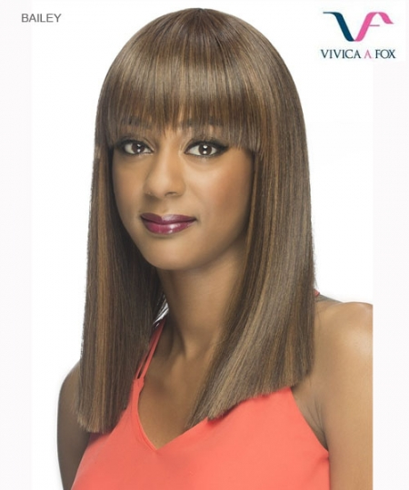 Vivica Fox BAILEY - Synthetic Pure Stretch Cap Full Wig