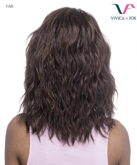 Vivica Fox FAB - Synthetic Invisible Side Part Lace Front Wig