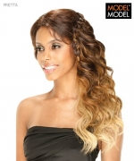 Model Model Lace Front Wig - PRETTA BRAIDED LACE FRONT WIG Futura Synthetic Lace Front Wig