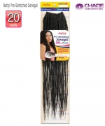 New Born Free Synthetic Hair Piece - NPSS20 Amour Natty Pre-Stretched Senegal 20