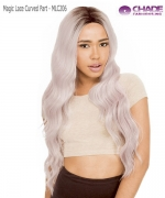 New Born Free Synthetic Lace Front Wig - Magic Lace Curved Part MLC206