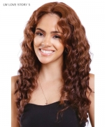 Diana 2-IN-1 Styles Synthetic Lace Front Wig - LW LOVE STORY 5
