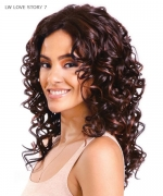 Diana 2-IN-1 Styles Synthetic Lace Front Wig - LW LOVE STORY 7
