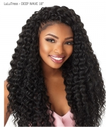 Sensationnel  Synthetic Hair Piece  LuLuTress -DEEP WAVE 18