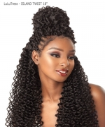 Sensationnel  Synthetic Hair Piece  LuLuTress - ISLAND TWIST  18