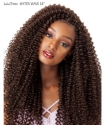 Sensationnel  Synthetic Crochet Braid  LuLuTress - WATER WAVE 18