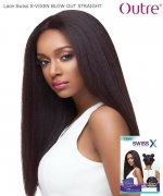 Outre Synthetic Lace Front Wig Lace Swiss  X - VIXEN BLOW OUT STRAIGHT