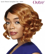 Outre Synthetic Full Wig  Quick Weave Complete Cap - NADI