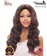 Vanessa TOPS M JOLENE - Synthetic Express Swissilk Lace Middle Part Lace Front Wig