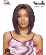 Vanessa TOPS VM EMIK - Synthetic Express Swissilk Lace V-Line Middle Part  Lace Front Wig
