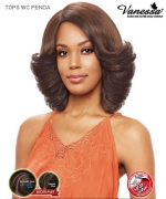 Vanessa TOPS WC PENDA - Synthetic Express Swissilk Lace Wider C Side Part Lace Front Wig