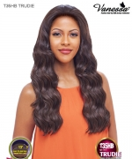 Vanessa T35HB TRUDIE - Brazilian Human Hair Blend Swissilk  Lace Front Wig