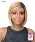 It's a wig Synthetic  Full Wig - Annalise