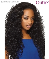 Outre Synthetic Half Wig Quick Weave - AMBER 26""