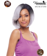 Vanessa SRCHB STORM - Human Hair Blend Sweet C Side Lace Part Lace Front Wig