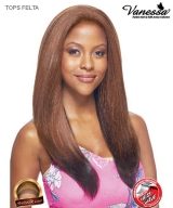 Vanessa TOPS FELTA - Synthetic Express Swissilk Lace Front Wig