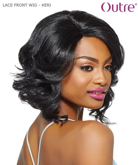 Outre Synthetic Lace Front Wig Swiss Lace L Part - KERI