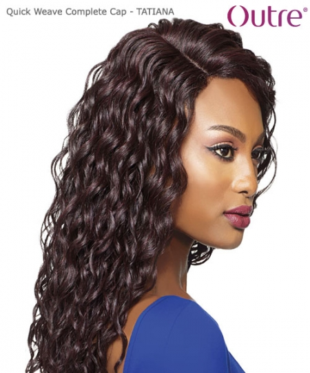 Outre Synthetic Full Wig Quick Weave Complete Cap - TATIANA
