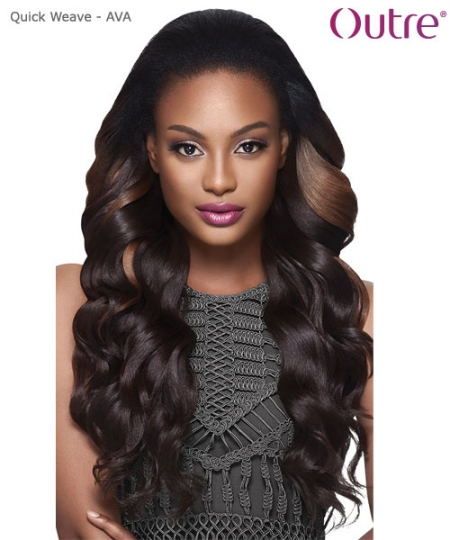 Outre Synthetic Half Wig Quick Weave - AVA