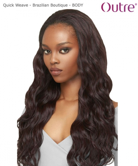 Outre Synthetic Half Wig Quick Weave  Brazilian Boutique - BODY