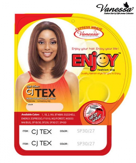 Vanessa CJ TEX  - Synthetic ENJOY FASHION Half Wig