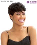 New Born Free Human Hair  Full Wig - Ali Brazilian 7A 01 - AW701