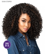 Sensationnel Synthetic Lace Front Wig  Empress Edge Curls Kinks & Co - SHOW STOPPER